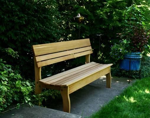 Садовая скамейка моей мечты