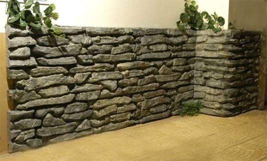 Искусственный камень часто используют для декорирования элементов в помещениях с...