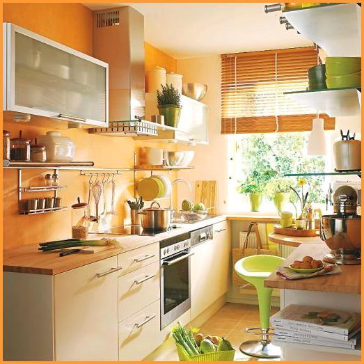 Интерьер кухни в деталях кухня № 3
