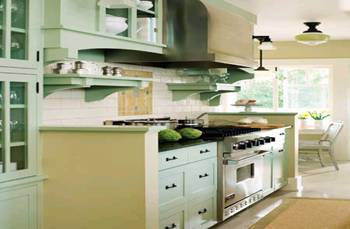 пространство кухни