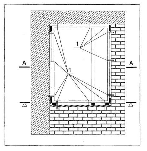 монтажа оконных блоков