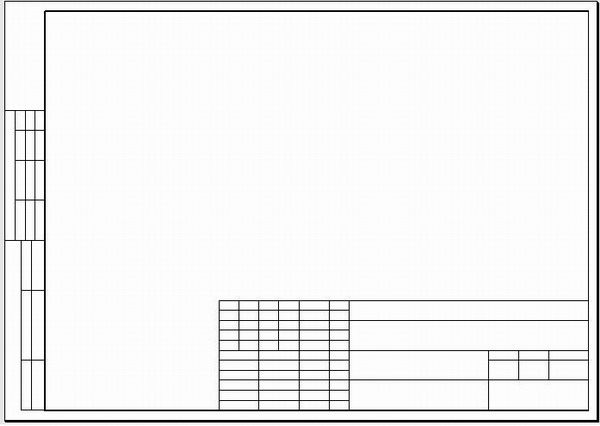 В поле Тип штампа чертежа вы можете выбрать определенный тип штампа