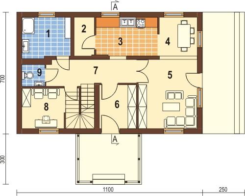 Проекты дачных домов и коттеджей под ключ, готовые